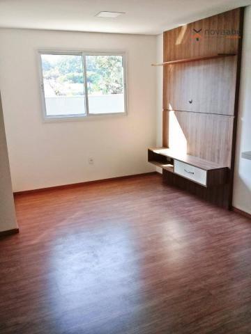 Apartamento com 3 dormitórios para alugar, 85 m² por R$ 2.500/mês - Jardim - Santo André/S - Foto 3