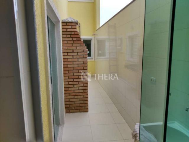 Apartamento com 3 dormitórios à venda, 96 m² por r$ 460.000,00 - campestre - santo andré/s - Foto 2