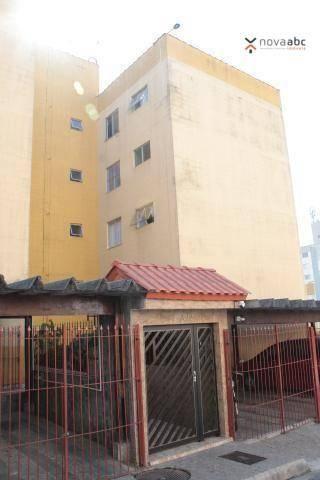 Apartamento com 2 dormitórios para alugar, 50 m² por R$ 1.020/mês - Vila Camilópolis - San - Foto 2