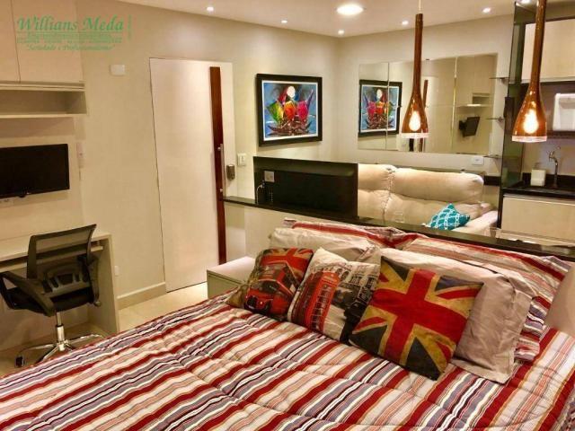 Studio com 1 dormitório para alugar, 36 m² por r$ 1.950/mês - vila augusta - guarulhos/sp - Foto 12