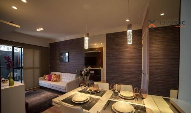 Apartamento com 2 dormitórios e varanda gourmet para alugar, 70 m² em condomínio completo  - Foto 3