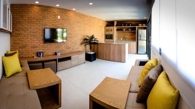 Del Castilho, 2 quartos com suíte, varanda, lazer, junto ao Nova América! - Foto 12