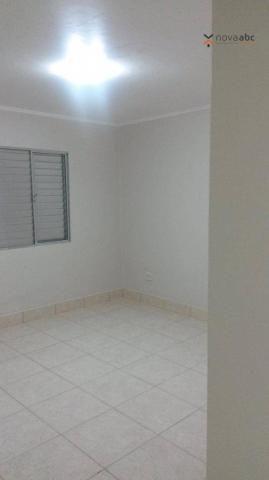 Apartamento com 1 dormitório para alugar, 58 m² por R$ 1.300/mês - Vila Floresta - Santo A - Foto 8