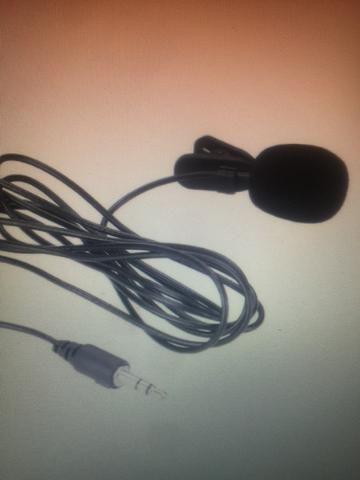 Microfone lapela 3.5mm