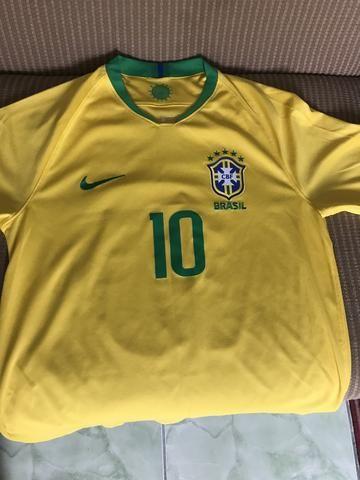 ef3a130f2 Camisa Seleção Brasileira OFICIAL - Roupas e calçados - Eldorado do ...