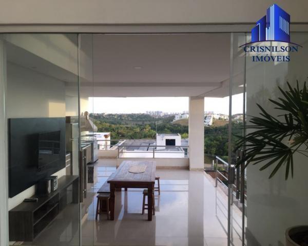 Casa à venda alphaville ii, salvador, r$ 1.650.000,00, armários, 4 suítes, espaço gourmet, - Foto 2