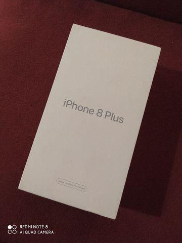 Caixa do iPhone 8 plus 80 REAIS