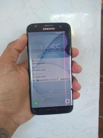Samsung S7EGE 128G divido pelo Mercado Livre.