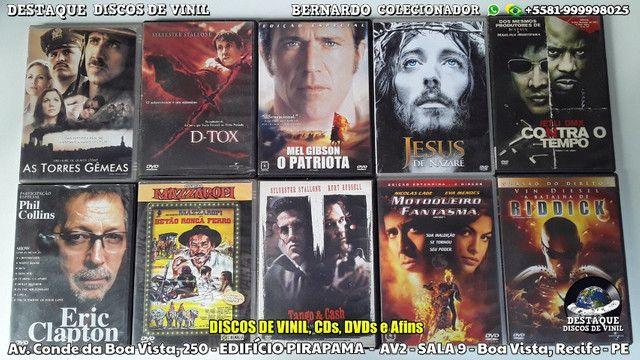CDs, DVDs e Discos de Vinil Variados, Venha Cinhecer Nosso Acervo - Foto 4