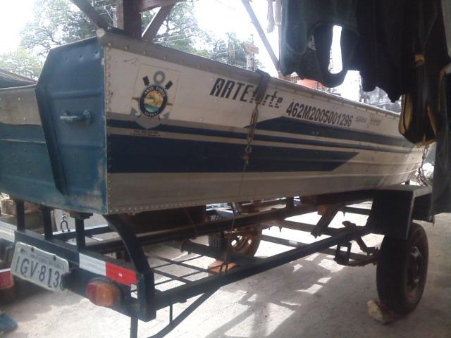 ;barco,motor,carreta - Foto 6