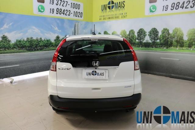 Honda Crv Exl 2014 Automatica Top Linha Flex Teto Solar Muito Nova Apenas 69.900 Lja - Foto 5