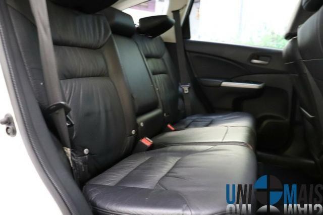 Honda Crv Exl 2014 Automatica Top Linha Flex Teto Solar Muito Nova Apenas 69.900 Lja - Foto 10