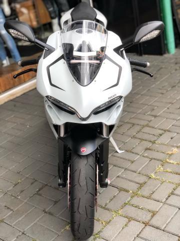 Ducati panigale 959 branca 2017 2.000km - Foto 3