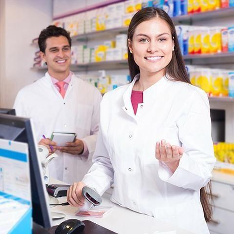 Atendente de Farmácia Homem ou Mulher