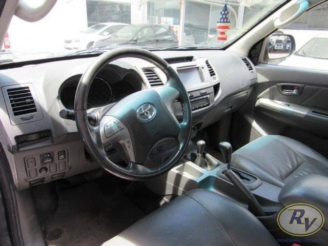 HILUX 2011/2012 3.0 SRV 4X4 CD 16V TURBO INTERCOOLER DIESEL 4P AUTOMÁTICO - Foto 4