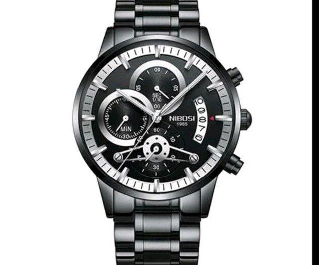 Relógio Original Nibosi Multifuncional - Foto 4