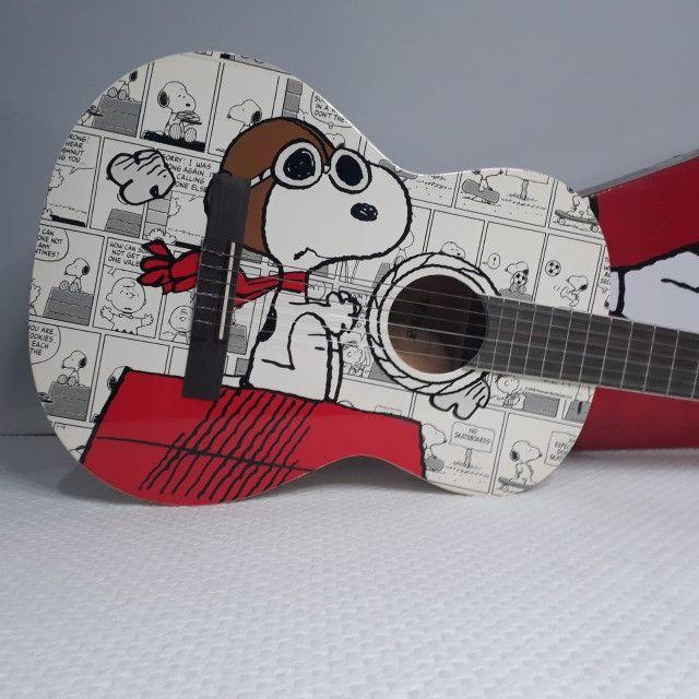 Violão Phoenix Clássico Peanuts Snoopy Aviador VSA-1