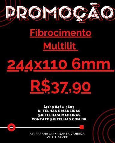 Telhas 244X110X6mm em Curitiba Paraná (R$37,90)