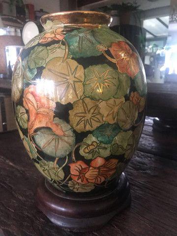 Espectacular vaso pintado a mão !  - Foto 4