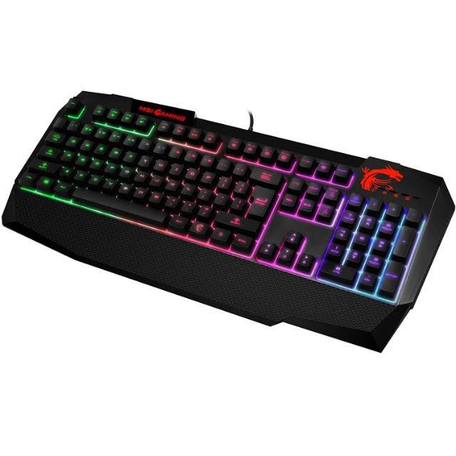 Combo Teclado + Mouse Game Msi Vigor Gk40 - Rgb Preto - Foto 3