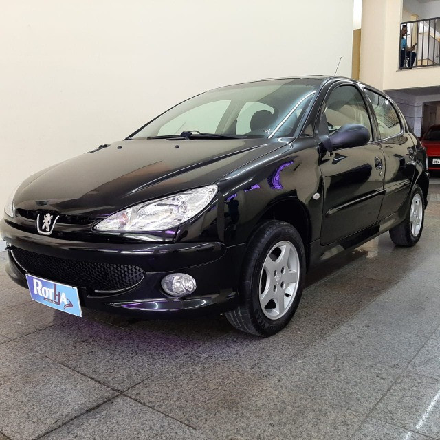 Peugeot Hatch 206 1.4 Mec. Flex 2008/2008