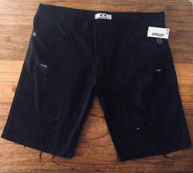 Bermudas jeans masculinas  - Foto 5