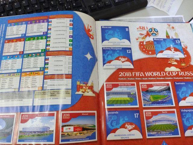 Album Copa do Mundo Rússia 2018 - com capa dura - Foto 3