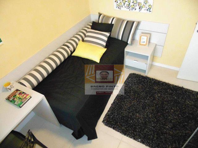 Apartamento com 2 dormitórios à venda, 72 m² por R$ 419.000,00 - Guararapes - Fortaleza/CE - Foto 8