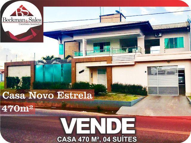 Belíssima Casa de 05 (Cinco) Suítes. - Foto 2