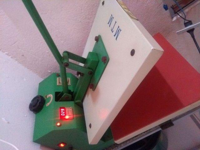 Máquina de estampa tamanho 38x38 estampa mais de 300 inté