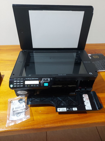 Impressora HP multifuncional Officejet 4500 Desktop - G510a - Foto 4