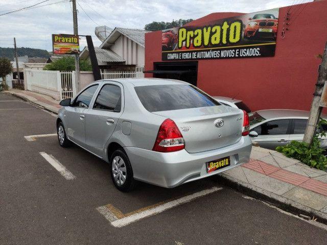Etios 2018 sedam Automático  29 mil km ROD.. - Foto 10