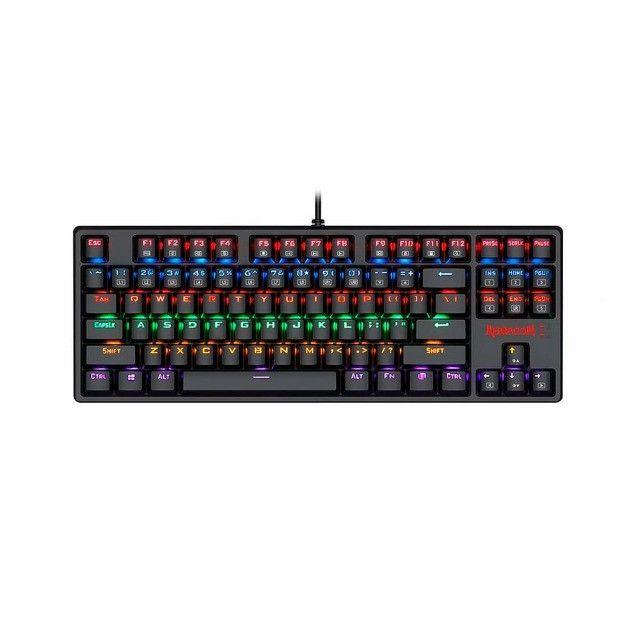 Teclado Mecânico  Redragon Daksa Rainbow Switch Blue K576r - Foto 5