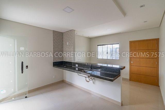 Casa nova com arquitetura moderna e cozinha americana no Rita Vieira 1! - Foto 7