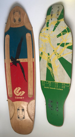 Skateboard Longboard Comet Bustin Trucks Paris Crail Rodas Orangatang Stimulus 4 Pres