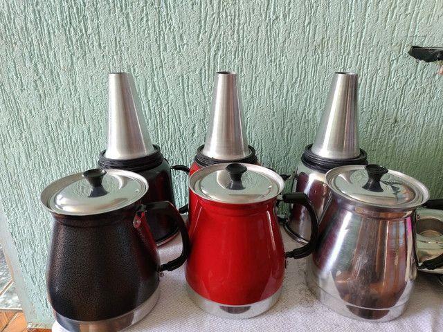 CAFETEIRA COLORIDAS DE ALUMÍNIO  - Foto 2
