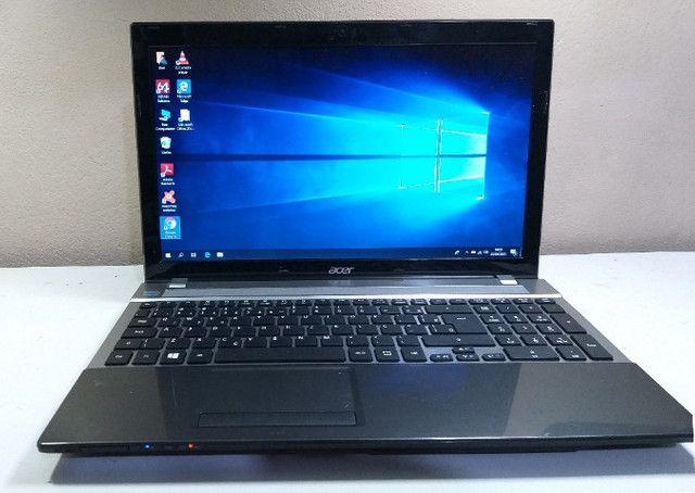 """Notebook Acer Intel Core I5, 8GB Ram, SSD, Tela 15.6"""",Alto Desempenho- 3 Meses de garantia"""