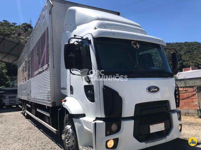 Ford Cargo 2428 2011/2012 BAÚ DE 11,50 MTS - Foto 4