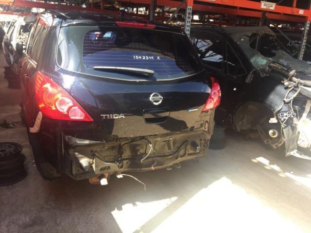 Peças usadas Nissan Tiida 2011 2012 1.8 16v flex 126cv câmbio manual