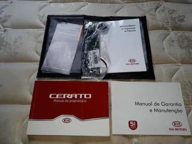 Kit de manuais do cerato