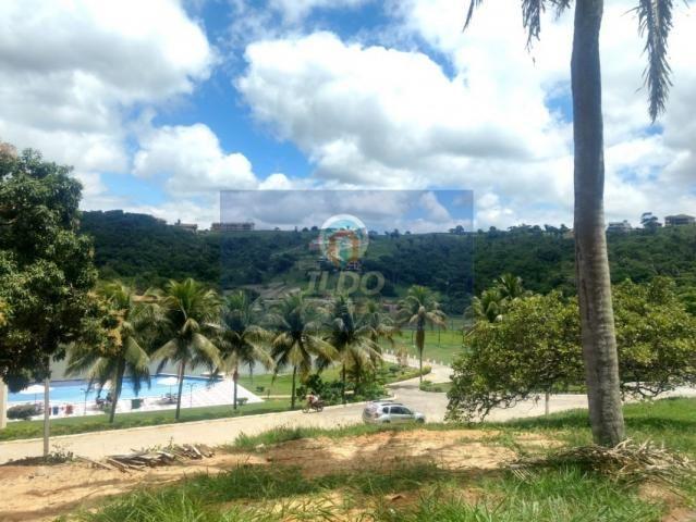 Excepcional lote em frente a área de lazer no Condomínio Águas da Serra em Bananeiras
