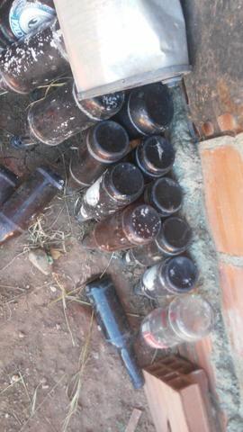Garrafas de litrão de cerveja