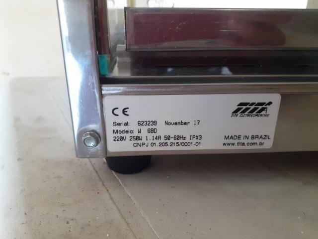 Expositor quente 6 cubas inox - Foto 2