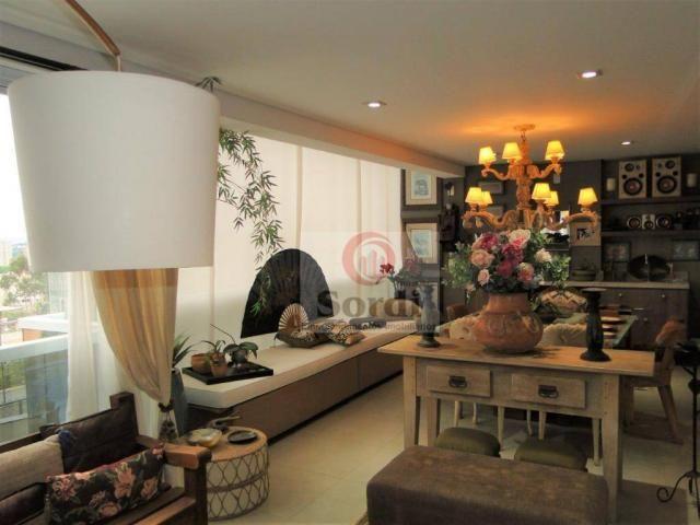 Apartamento com 4 dormitórios à venda, 227 m² por r$ 1.599.000 - jardim botânico - ribeirã - Foto 5
