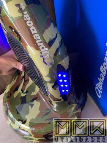 Hoverboard skate elétrico ou scooter 10 Polegadas Novo completo com Bluetooth e garantia - Foto 6
