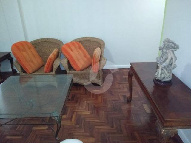 Apartamento com 2 dormitórios para alugar, 121 m² por r$ 1.800,00/ano - icaraí - niterói/r - Foto 7