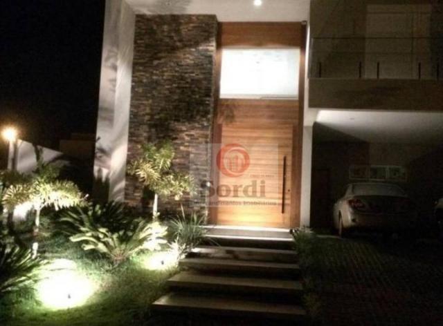 Sobrado com 5 dormitórios à venda, 413 m² por r$ 1.750.000,00 - alphaville - ribeirão pret - Foto 2