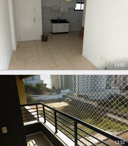 Alugo apartamento na Ponta do Farol, 2 quartos, projetados
