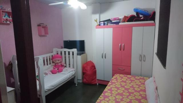 Casa mobiliada + quintal + garagem e ar cond. 12000btus SÓ 1500,00 - Foto 4