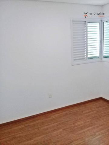 Apartamento com 3 dormitórios para alugar, 85 m² por R$ 2.500/mês - Jardim - Santo André/S - Foto 6